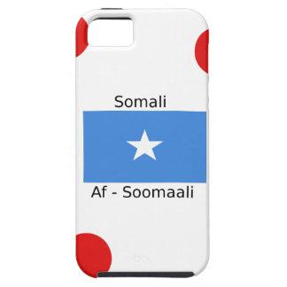Het Somalische Taal en Ontwerp van de Vlag van Tough iPhone 5 Hoesje