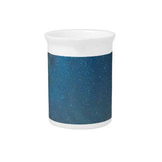 Het Soort van de Melkweg van Colorado Nacht Drink Pitcher