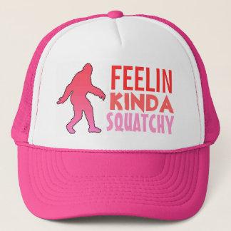 Het soort van Feelin squatchy roze verdwijnt Trucker Pet