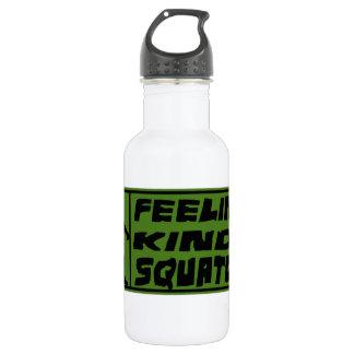 Het Soort van Feelin Squatchy Waterfles