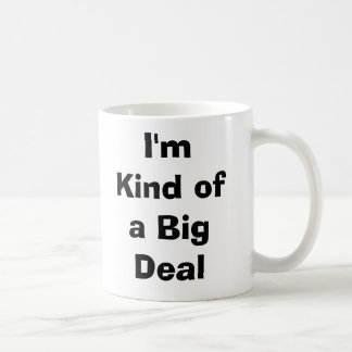 Het Soort van I'm een Grote Overeenkomst Beker