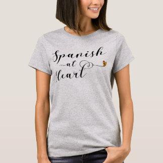 Het Spaans bij de T-shirt van het Hart, Spanje