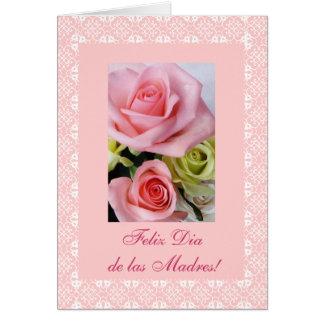 Het Spaans: Moederdag/Dia DE las madres Wenskaart
