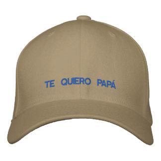 Het Spaanse Geborduurde Pet van Te Quiero Pa