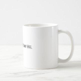 Het sparen omhoog voor een Vrouw van de Trofee Koffiemok