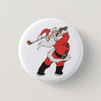 Het speelgolf van de Kerstman Ronde Button 3,2 Cm