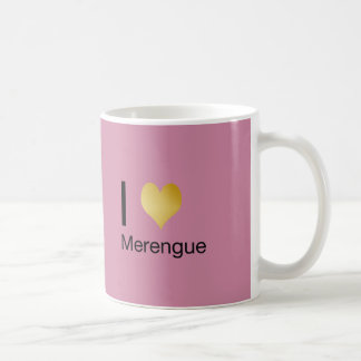 Het speels Elegante Hart Merengue van I Koffiemok