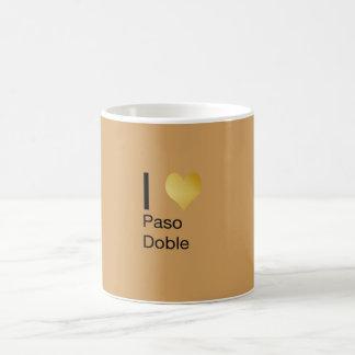 Het speels Elegante Hart Paso Doble van I Koffiemok