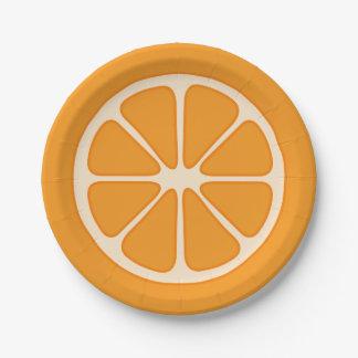 Het speelse Oranje Bord van het Document van de
