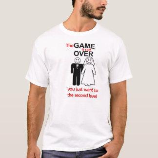 het spel is niet over t-shirt