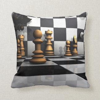 Het Spel van de Koning van het schaak Sierkussen