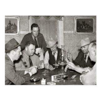 Het Spel van de pook, 1939 Briefkaart