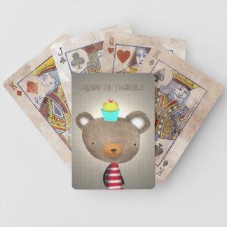 Het Spel van de teddybeer Pak Kaarten