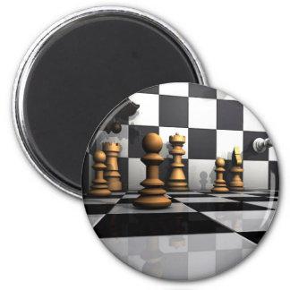 Het Spel van het Schaak van de koning Magneet