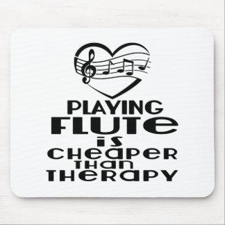 Het spelen de Fluit is Goedkoper dan Therapie Muismat