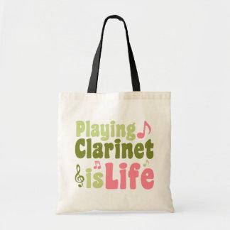 Het spelen de Klarinet is het Leven Draagtas
