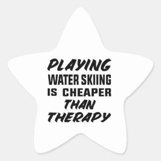 Het spelen het Water die is goedkoper dan therapie Ster Sticker