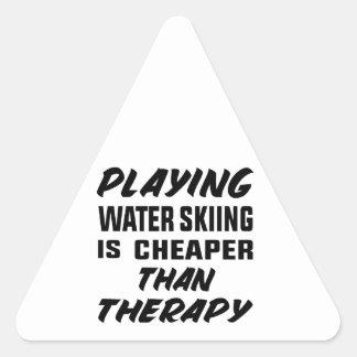 Het spelen het Water die is goedkoper dan therapie Sticker