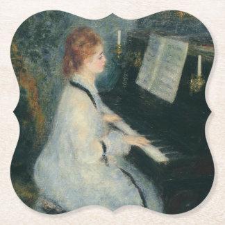 Het spelen Piano door Kaarslicht Viltjes
