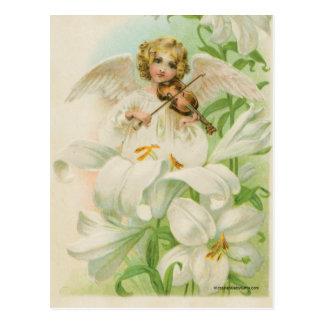 Het Spelen van de engel Viool Briefkaart