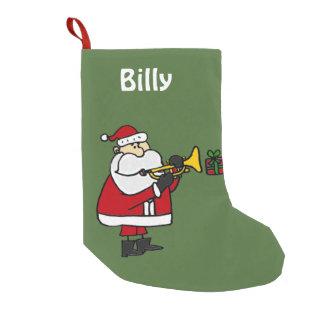 Het Spelen van de Kerstman de Kous van Kerstmis Kleine Kerstsok