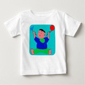 Het Spelen van Pino van het baby Baby T Shirts
