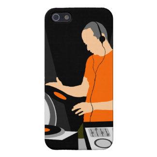 Het Spinnende Vinyl van DJ iPhone 5 Cases