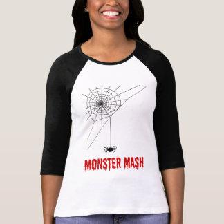 Het Spinneweb van Halloween van de Brij van het T Shirt