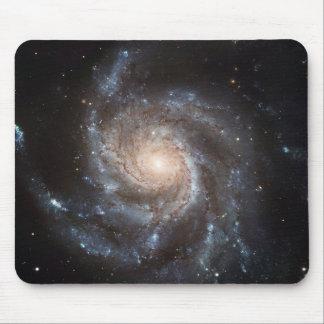 Het spiraalvormige Hoogste uitzicht van de Melkweg Muismat