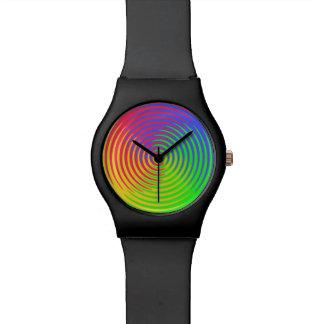 Het Spiraalvormige Horloge van de regenboog