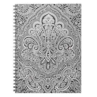 Het Spiraalvormige Notitieboekje van de Kunst van Ringband Notitieboek