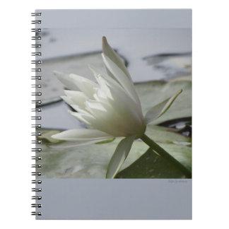 Het Spiraalvormige Notitieboekje van Waterlily Notitieboek