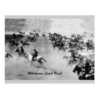 Het SpoedBriefkaart van het Land van Oklahoma Briefkaart