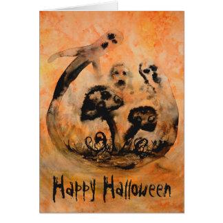 Het spook schiet de Kaart van Halloween als