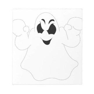Het Spook van Halloween Notitieblok