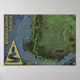 Het Spoor van Bibbulmun:: 2011:: Flora Poster