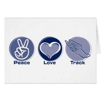 Het Spoor van de Liefde van de vrede Kaart