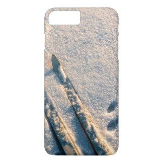 Het spoor van de ski iPhone 8/7 plus hoesje