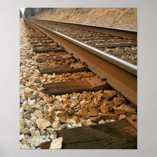 Het Spoor van de spoorweg Poster