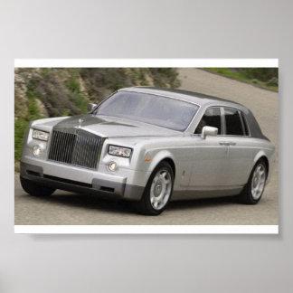 Het Spoor van Rolls Royce Poster