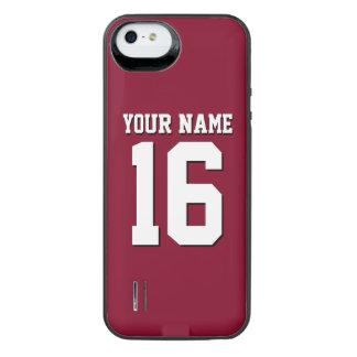 Het Sportieve Team Jersey van Bourgondië iPhone SE/5/5s Batterij Hoesje