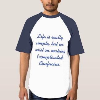 Het spreuk van Confucius T Shirts