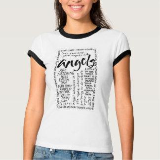 Het Spreuk van de engel T Shirt