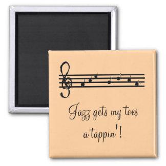 Het Spreuk van de Muziek van de jazz Magneet