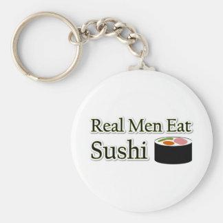 Het Spreuk van sushi Basic Ronde Button Sleutelhanger