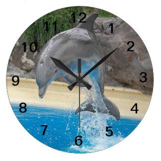 Het springen Dolfijn Grote Klok