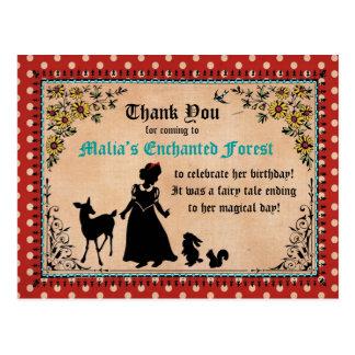 Het Sprookje van de prinses dankt u Briefkaart