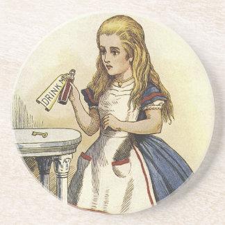 Het Sprookjesland van Alicein drink me Onderzetter
