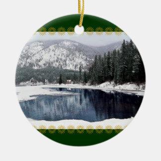 Het Sprookjesland van de winter, het Ornament van