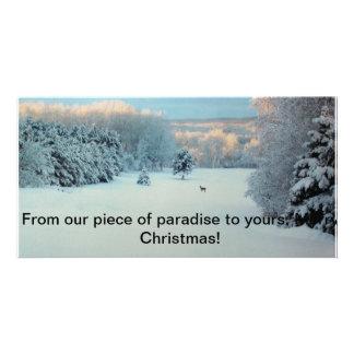 Het Sprookjesland van de winter Kaart
